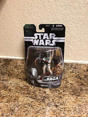 "Star Wars The Saga Collection BOBA FETT Saga 006 Action Figure 3.75"" Hasbro USA"