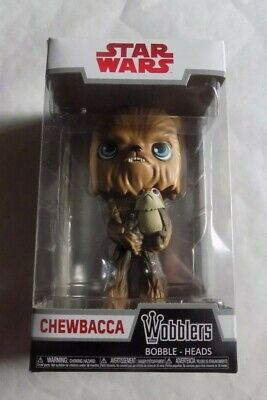Funko Wobbler Star Wars The Last Jedi Chewbacca holding Porg