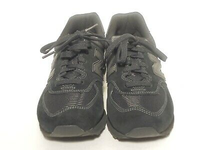 premium selection 8e09e 82f7c NEW BALANCE 574V2 Classics Mens Shoes Size 6.5 EE Black Suede Sneakers NWOB