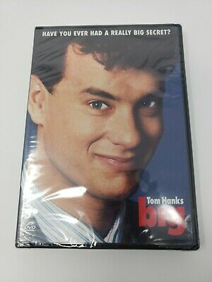 Big DVD 2003 Widescreen Tom Hanks New  Sealed