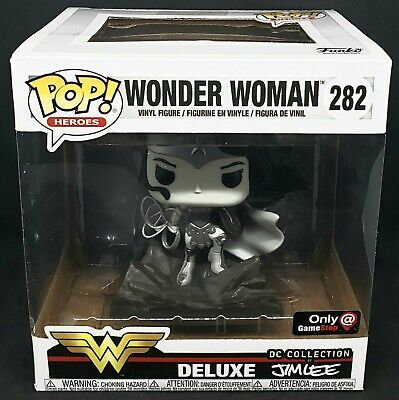 Funko Pop! Wonder Woman #282 DC Comics Jim Lee Deluxe (Gamestop) *Mint*