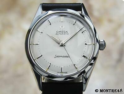 Omega Seamaster Cal 471 Rare Men's Swiss Made Auto 33mm Vintage 1960 Watch AS263