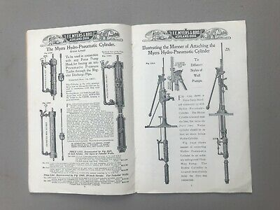 Antique 1910s FE Myer Ashland OH Water Pump Catalog