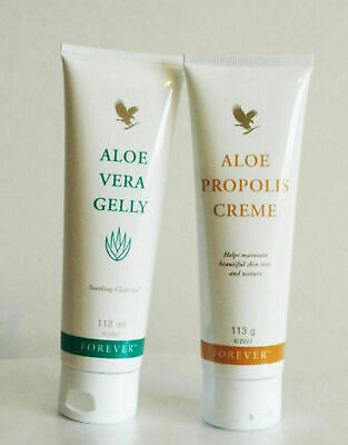 FOREVER LIVING ALOE Vera Gelly & Aloe Propolis Creme for