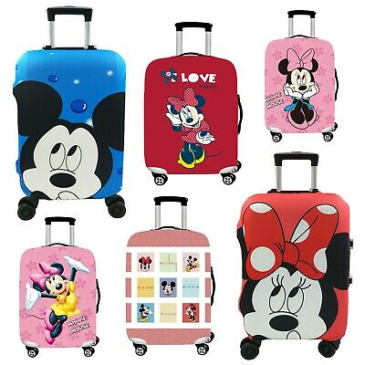 Suitcase Luggage Protective Cover Kids Cartoon Minnie Mickey Pink Panther Design
