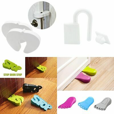 Baby Door Stopper Finger Pinch Guard Children Safety Security Multi Style H Y1E3