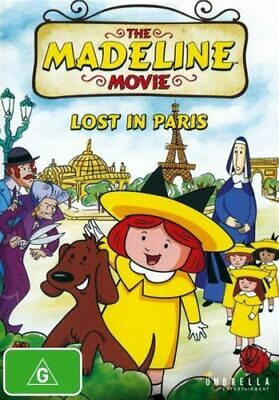 The Madeline Movie - Lost In Paris - Brand New & Sealed Dvd