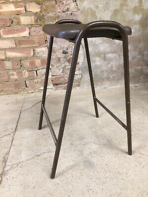 Vintage Retro School Stacking Lab Cafe Kitchen Bar Stool ( 5 Available )