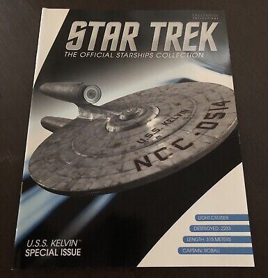 Eaglemoss Star Trek Starships Collection Special #5 'U.S.S. Kelvin NCC-0514'