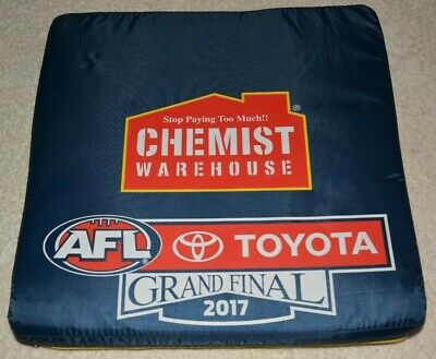 2017 Afl Grand Final Game Day Seat Cushion  Richmond Tigers Premiers Collectable