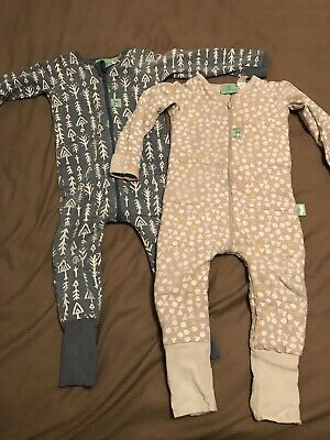 2 x Ergopouch Sleep Suit size 2 -  2.5 tog