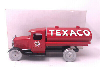 Texaco Tanker Steel Toy Truck 11 Inches Long Tank Truck