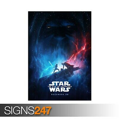 STAR WARS THE RISE OF SKYWALKER (ZZ079) MOVIE POSTER Poster Print Art A1 A2 A3