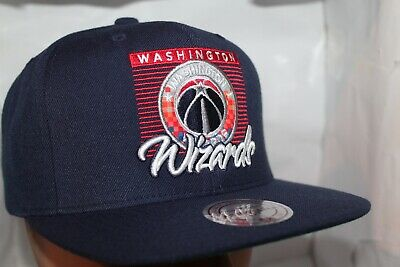 low priced great deals arriving Washington Wizards 202 GOLD AREA CODE Snapback Mitchell & Ness NBA ...