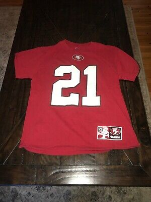 detailed look d614a 6db08 VINTAGE MAJESTIC FRANK Gore T Shirt Jersey Men's M EUC San Francisco 49ers