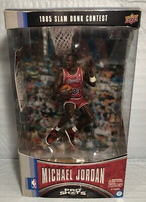 NBA Michael Jordan Action Figure 23 Red Jersey 1//9 Fans Kids Xmas Toy NEW In Box