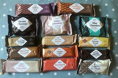 NEW 💌 EXANTE 14 Exante Snack Bars - Mixed Bar Selection