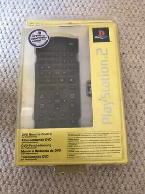Official Sony Playstation 2 PS2 DVD Remote Control (SCPH-0420 E)