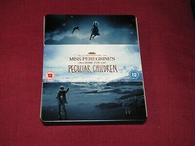 MISS PEREGRINE'S Steelbook Blu-ray 3D + Blu-ray (Limited Edition) (Lot)