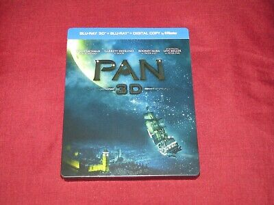 PAN Steelbook Blu-ray 3D + Blu-ray (Limited Edition) (Hugh Jackman)(Lot)