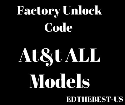 At&T Premium Unlock Code All Brands Samsung Asus Lg Iphone Htc Zte Huawei Nokia