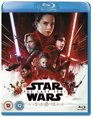 Star Wars: The Last Jedi (Blu-Ray, 2018) New & Sealed FREE SHIPPING
