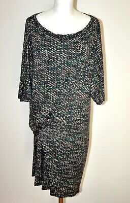 Vestito Abito Donna Vintage Di Benetton, Taglia M/L- Vintage Woman Dress