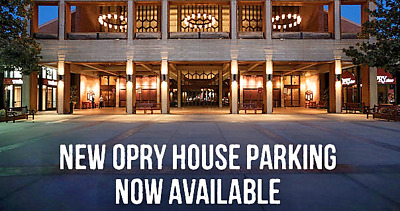 1 PARKING PASS Grand Ole Opry Saturday Oct 5 2019 Opens 9:00 AM To 1:00 AM
