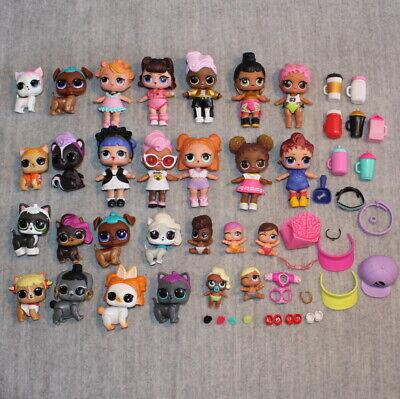 LOL SURPRISE MGA Dolls Dogs Babies Accessories Stickers Large Collectible Bundle