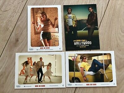 Once upon a time in Hollywood, 4 Samelkarten, 4 Collectible Cards