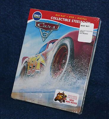 Cars 3 (Blu-ray) Steelbook - Best Buy Exclusive
