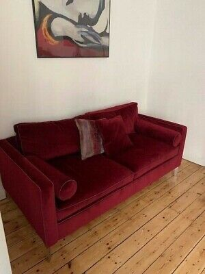 £2300 New - Duresta Brooklyn Luxury Sofa - Only Used In Show Home