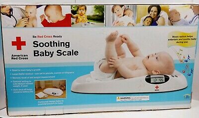 American Red Cross Soothing Baby Scale With Music