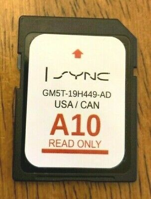 A10 MAP FORD Lincoln Latest Navigation Sd Card Gps 2019 2018