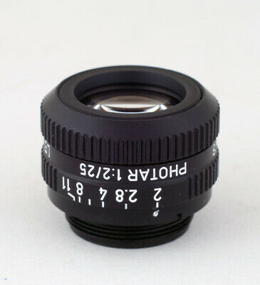Leitz (Leica) Photar II 25mm f/2 - Extreme Macro - Bellows Lens - RMS