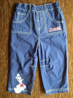Boys' Disney Donald Duck Trousers 6-9 Months New with Tags