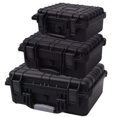 Protective Equipment Hard Carry Case Storage Box ABS Photography Foam Waterproof