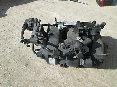 2014 Vauxhall Corsa D 1.0 A10Xep Complete Inlet Manifold Tested 55562247 Rx