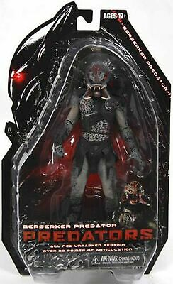 NECA Predators 2010 Movie Series 2 Action Figure Beserker Predator Unmasked