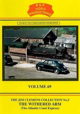 B & R 69 DVD The Withered Arm  Steam Rail Train Video