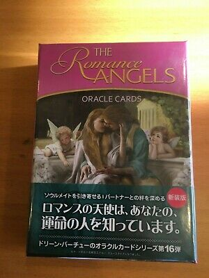 Romance Angel Oracle Cards Doreen Virtue Japan F/S  with Japanese manual japan