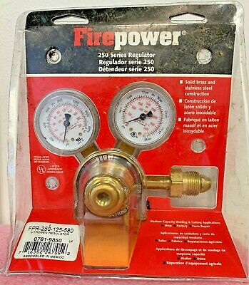New Firepower Fpr-250-125-580 Nitrogen Regulator (0781-9850)