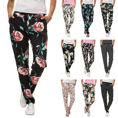 Hailys Ladies Summer Trousers Casual Beach Print Women's Sale %