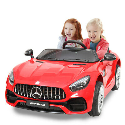 New Kids Ride On Car 12V Mercedes-Benz Electric Powered 2.4G RC Remote & MP3