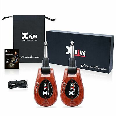 XVIVE U2 Wireless Guitar System - Wood