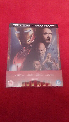 Iron Man steelbook 4K Ultra HD Zavvi Neuf sous blister