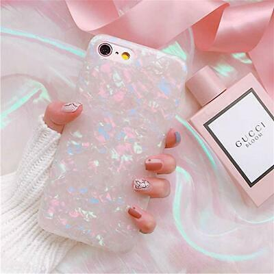 For iPhone 8  Plus X XS MAX XR Marble Shockproof Silicone Soft Phone Case Cover