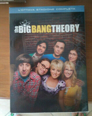 The Big Bang Theory - Stagioni 2°, 3°, 4°, 5°, 6°, 7°, 8° DVD