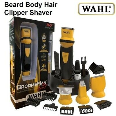 WAHL Beard Hair Shaver Trimmer Clipper PRO Sport Mens Grooming Cordless Electric