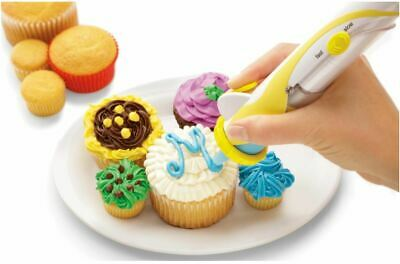 New Frosting Deco Pen Cake Cupcake Desert Battery Operated Decorating Pen